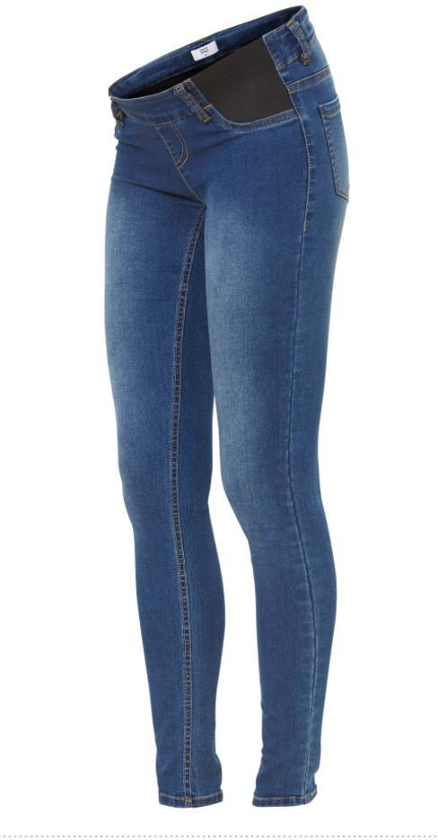 Ella Skinny Blue Maternity Jeggings