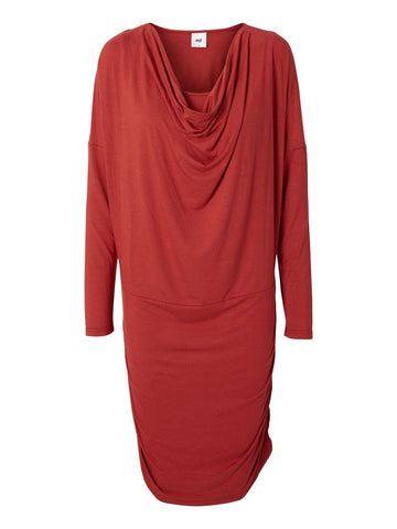 EBBA Long Sleeved Shirt Mix Office Maternity Dress