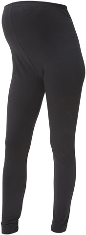 Rosa Jersey Maternity Yoga Bottoms - BLACK