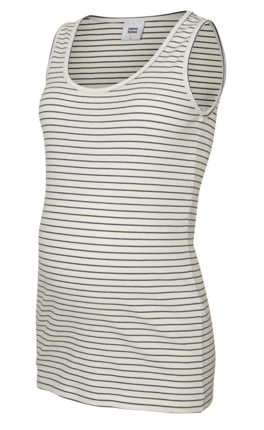 Lilla Sleeveless Jersey Maternity Top