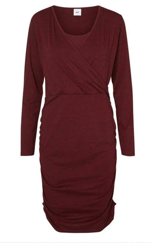 Mariah Nell Knitted Long Sleeved Nursing Dress