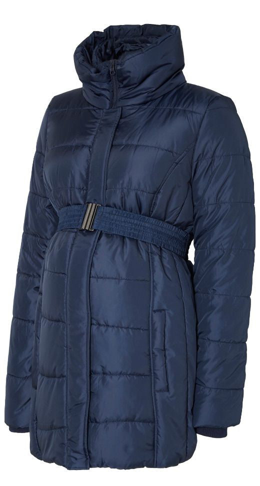 Quilty Padded Maternity Jacket - Black