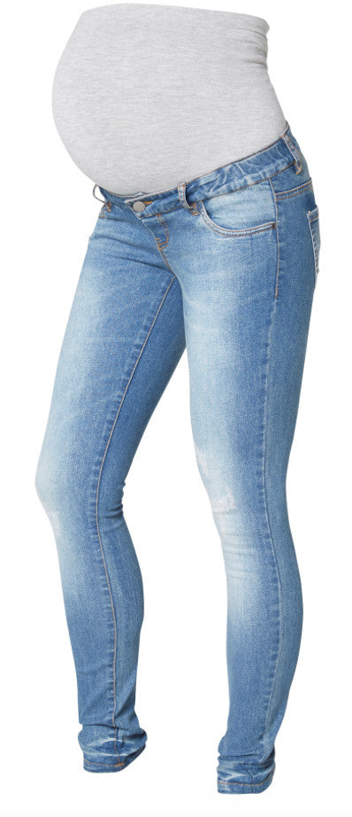 Scratch Pocket Slim Over the Bump Maternity Jeans