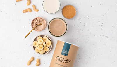 Chocolate Protein in smoothies, oatmeal