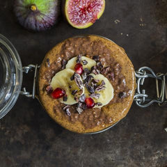 Healthy dessert recipe for Chocolate Pumpkin Spice Chia Pudding