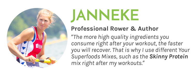 Skinny Protein Mix Review - Professional Rower