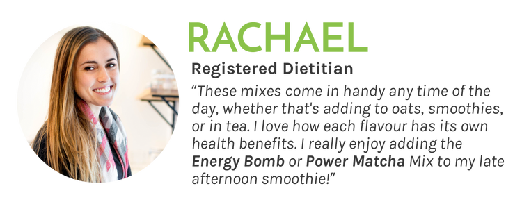Power Matcha and Energy Bomb Mix Review - Registed Dietitian