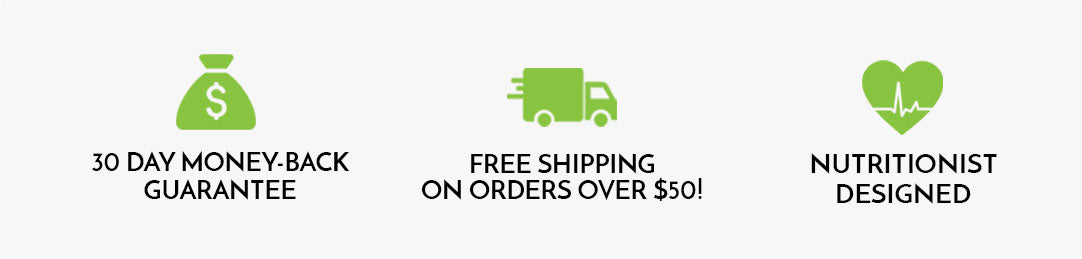 Money Back Guarantee, Free Shipping, Nutritionist Designed - YourSuperFoods