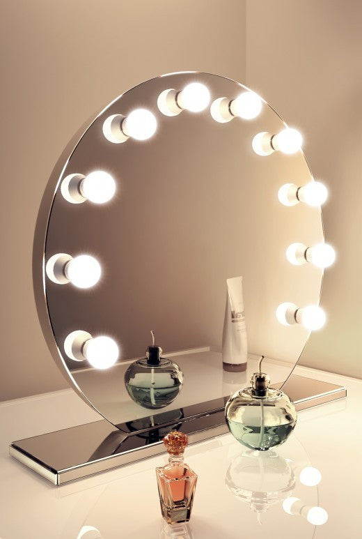 Hollywood Vanity Mirror Round Opv Beauty