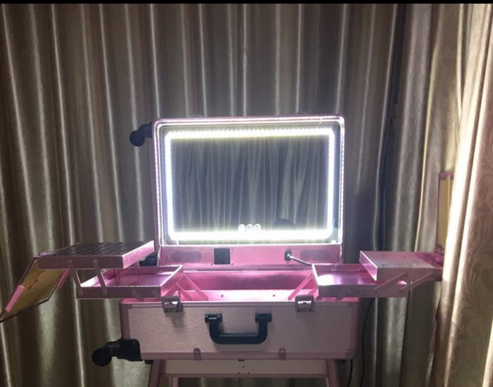 Opv Led Vanity Mirror Case No Legs Opv Beauty