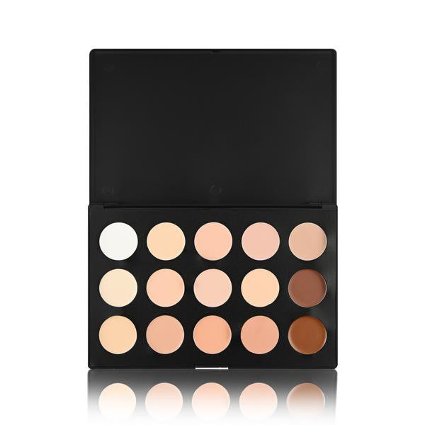 15 Colour Concealer Palette (Cream Base)