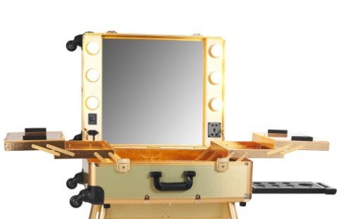 Gold OPV LED Lighted Mirror Case (no legs)