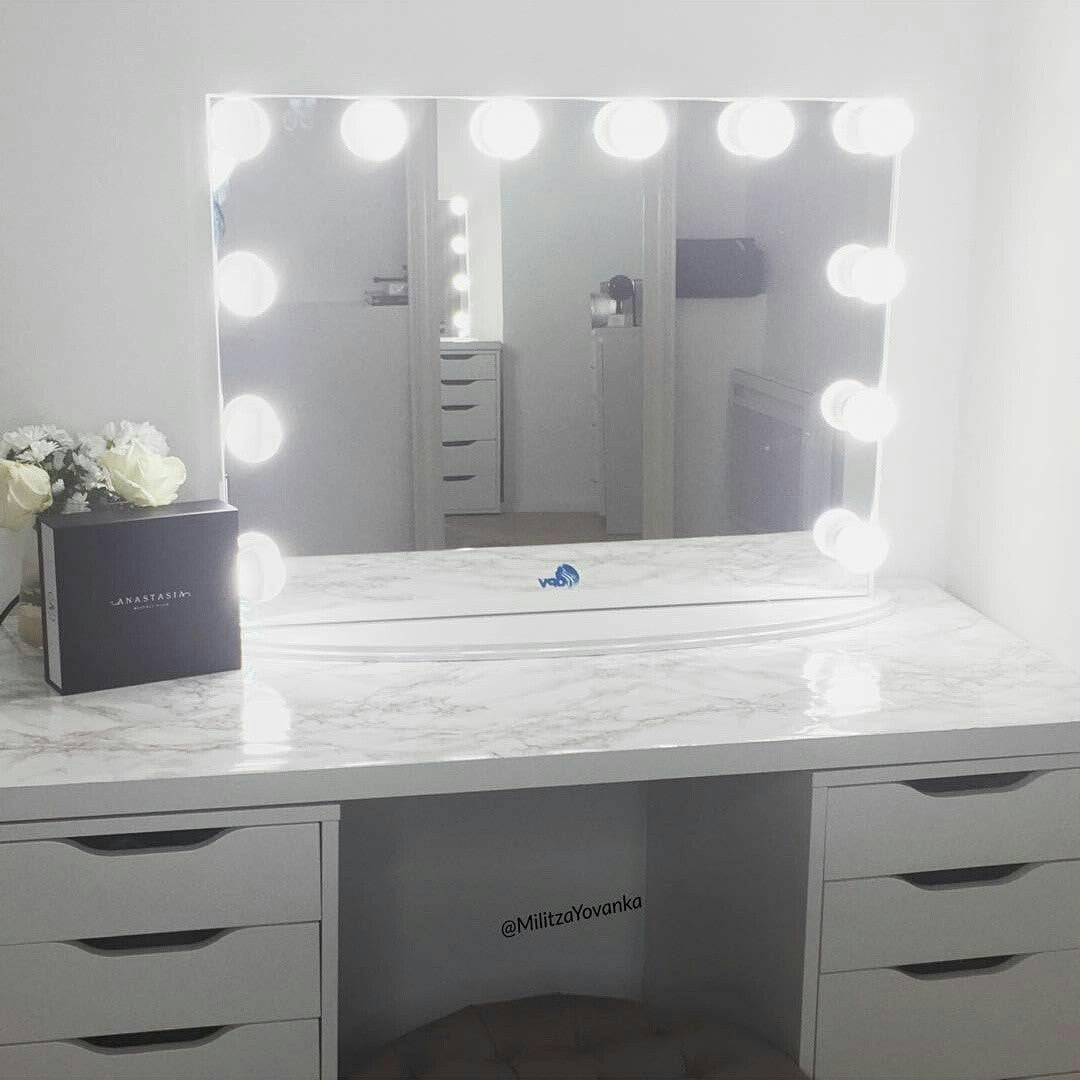 Hollywood Vanity Mirror Rectangle Opv Beauty