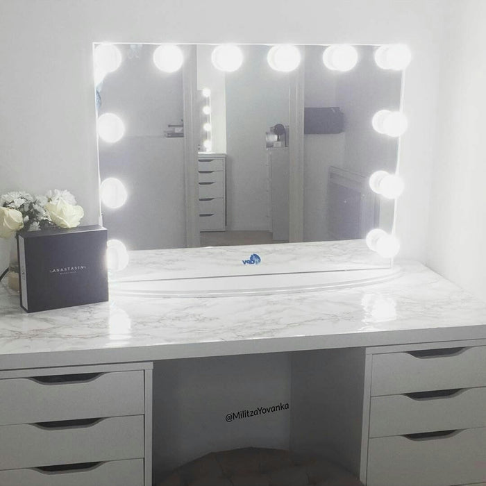 Hollywood  Vanity Mirror(Rectangle)