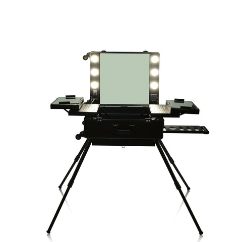 Black OPV LED Lighted Mirror Case with Legs