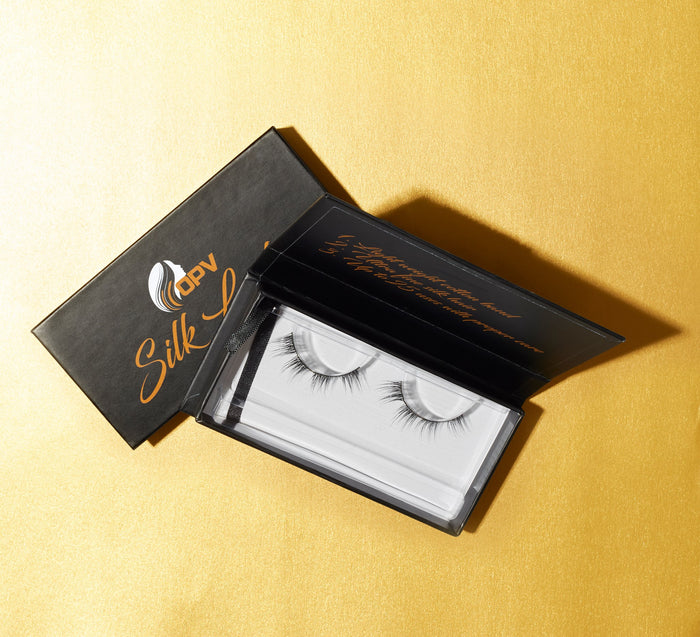 Eyelashes - 100% Real Silk (Queen)