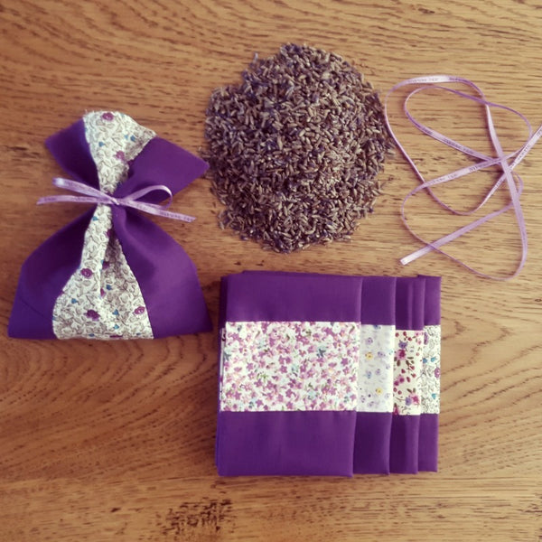 Create Your Own Tasmanian Lavender Sachet Pack