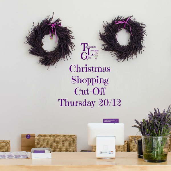 Last Minute Christmas Shopping at Tasmanian Lavender Gifts