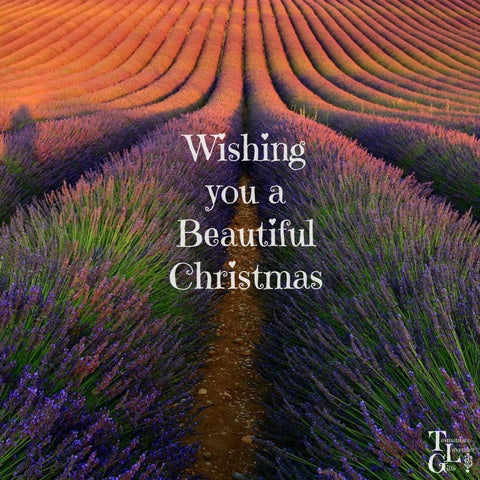 Wishing you a beautiful Christmas from Tasmanian Lavender Gifts