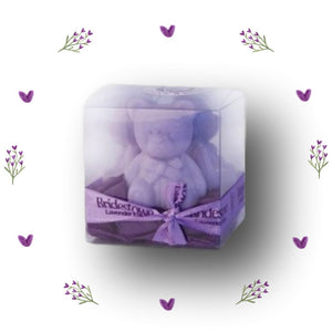 Bobbie ~ Tiny Teddy Trio Boxed Soaps - Tasmanian Lavender Gifts