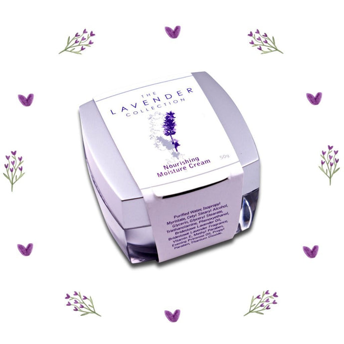 Lavender Collection Nourishing Moisture Creme - Tasmanian Lavender Gifts