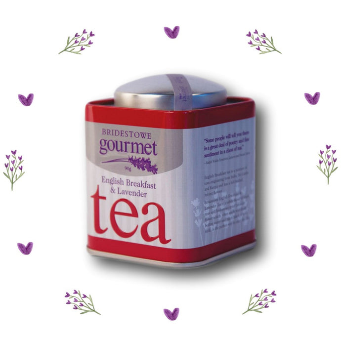 Gourmet Tasmanian Lavender & English Breakfast Tea - Tasmanian Lavender Gifts