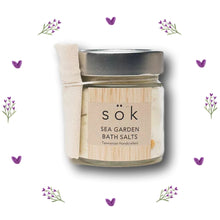 Tasmanian Lavender Gifts Bath Salts ~ 'Sea Garden' by SOK