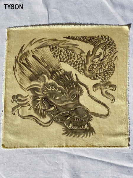 Dragon Handpainted Organic Cotton T-Shirt