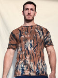 Ron Plant Dyed Organic Cotton T-Shirt - Choco Blue