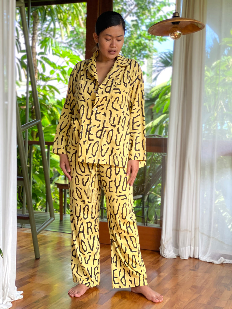 SooJ You Are Loved Organic Cotton Pajama - Set or Separates