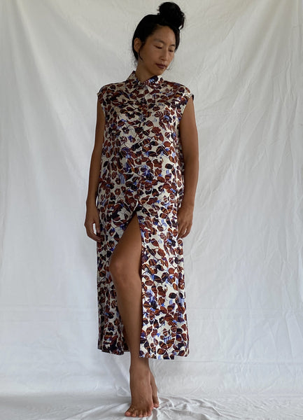 Ayuni Silk Dress - New York Deadstock