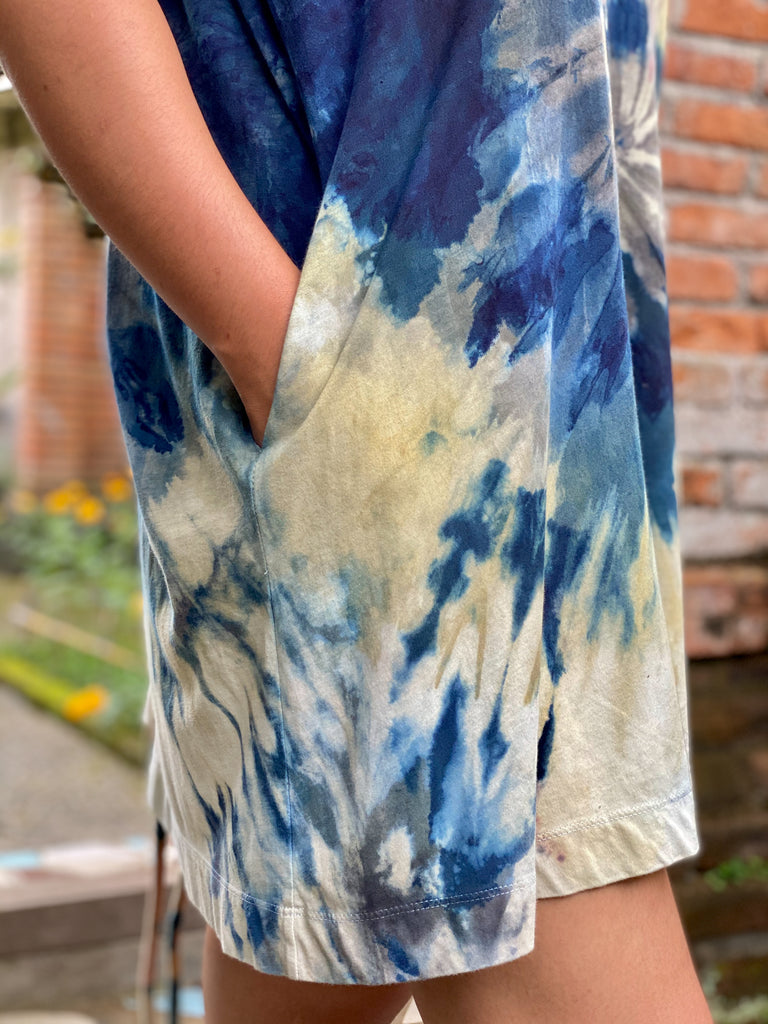 Lena Plant Dyed Organic Cotton T-Dress