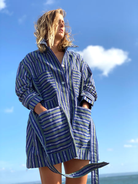 Nikki Handwoven Oversized Shacket - Cordillera