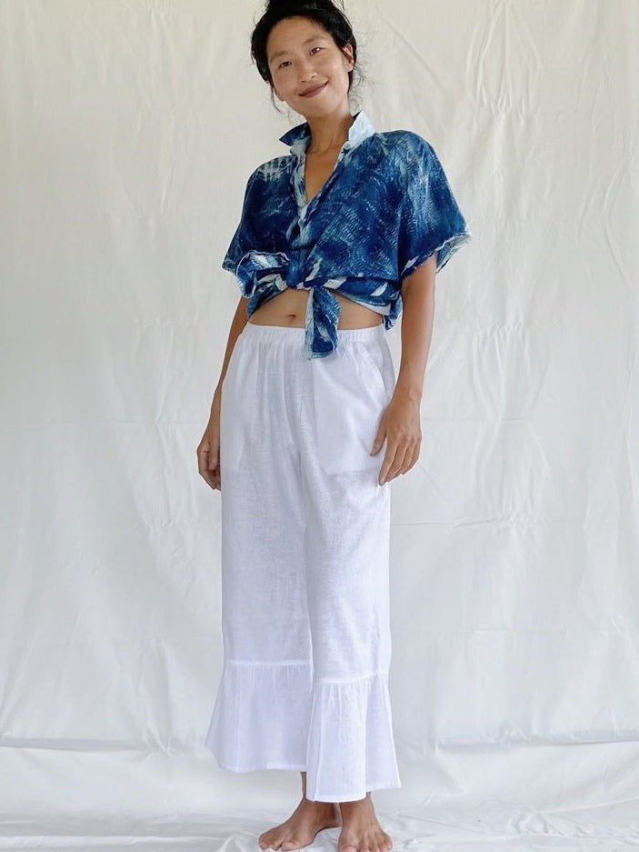 Stephanie Hemp Plant Dyed Pants