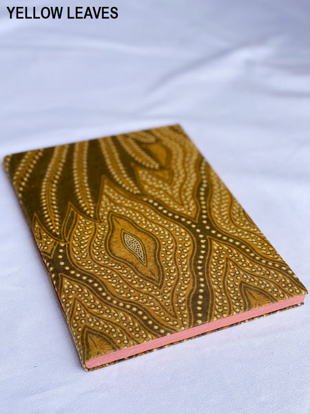 Kaycee Recycled & Upcycled Fabric Notebook