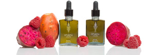 Natural Oils for the Face Prickly Pear Oil, Red Raspberry Oil, Avocado Oil, Lavender Oil