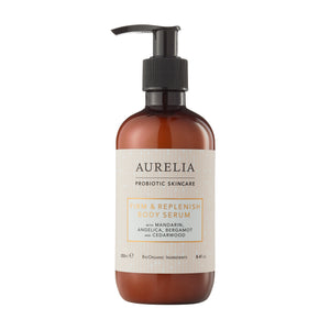 Firm and replenish body serum by Aurelia probiotic skincare