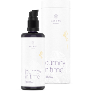 Journey in time body oil by Max and me