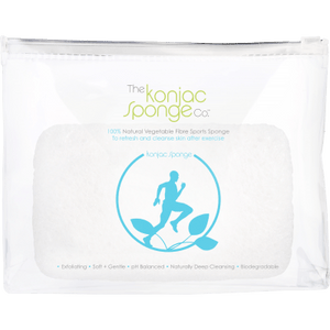 Running Man Sports Sponge by The Konjac Sponge Company