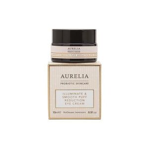 Illuminate & Smooth Puff Reduction Eye Cream by Aurelia Probiotic Skincare