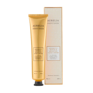 Aromatic repair and brighten handcream by Aurelia probiotic skincare