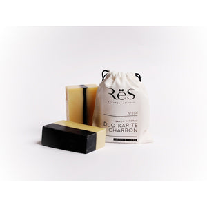 Shea Butter + Active Charcoal Soap by ReS Natural