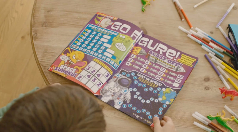 educational content inside the magazine