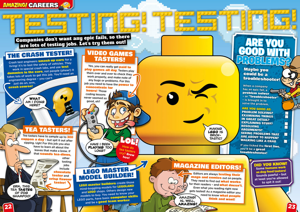 Amazing! Issue 24 - Epic Fails - Amazing Children's Magazine