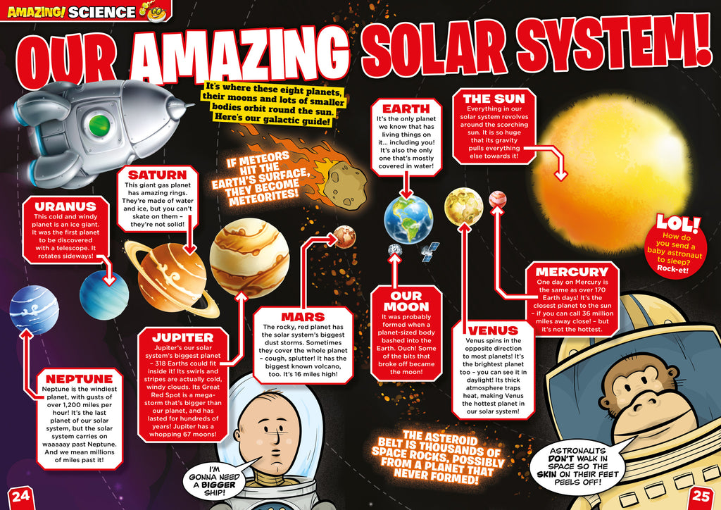 Amazing! Issue 27 - Super Planets! - Amazing Children's Magazine