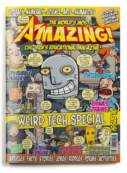 Amazing! Issue 10 - Weird Tech