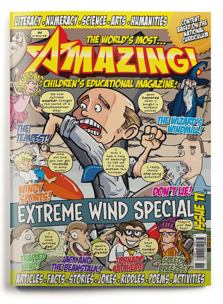 Amazing! Issue 11 - Extreme Wind