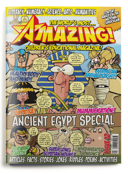 Amazing! Issue 12 - Ancient Egypt