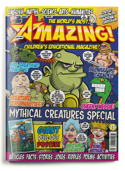 Amazing! Issue 13 - Mythical Creatures