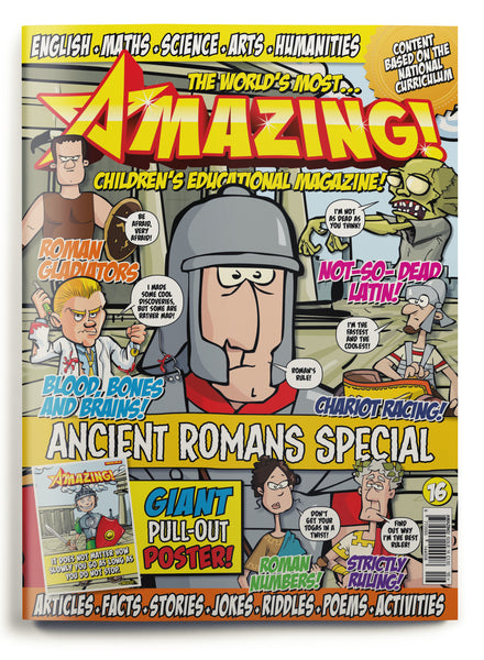 Amazing! Issue 16 - Ancient Romans